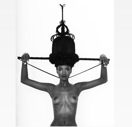 Прически или скульптуры? Идеи Joanne Petit-Frere — фото 4