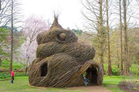 Патрик Догерти – скульптор, который вьет гнезда — фото 14
