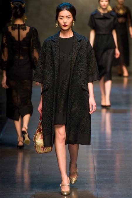 Dolce & Gabbana осень-зима 2013-2014 – когда всего слишком много — фото 45