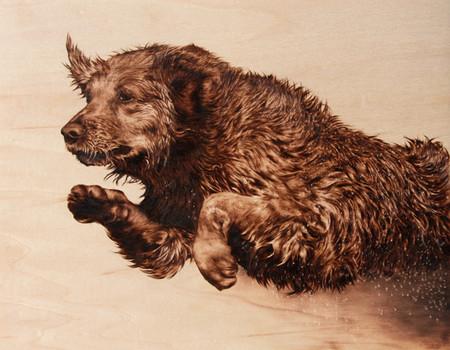 Пирография – горячая живопись Джулии Бендер — фото 5