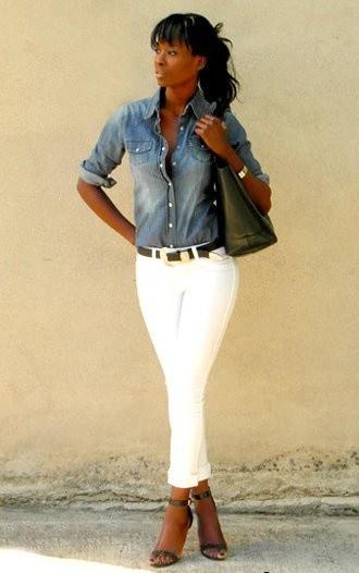 Ода джинсовой рубашке – сочиняем образы — фото 16