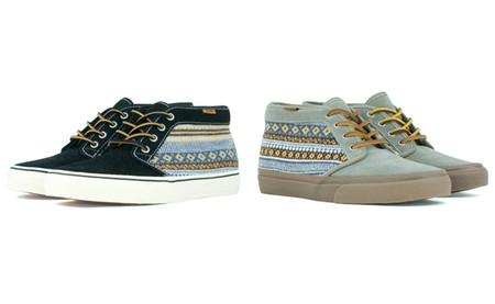 А как вам ботинки от Vans California chukka? С узором? По-моему, очень неплохо смотрятся!