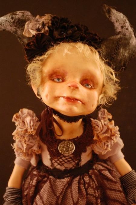 Зомби, монстры, вампиры и прочие куклы Камиллы Млынарчик — фото 15