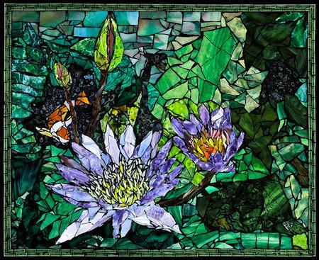 Механизмы и другие штуки в мозаиках Лоры Харрис — фото 17