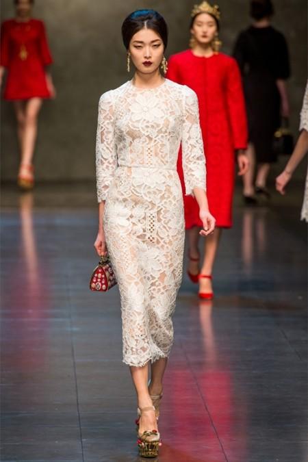Dolce & Gabbana осень-зима 2013-2014 – когда всего слишком много — фото 55