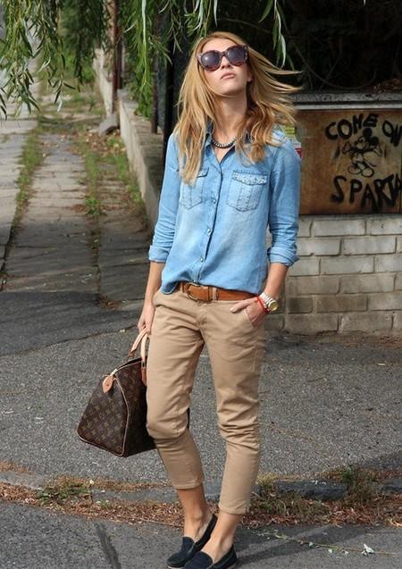 Ода джинсовой рубашке – сочиняем образы — фото 36