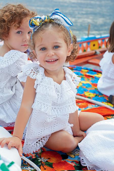 Самым любимым – детская коллекция Dolce&Gabbana весна-лето 2013 — фото 3