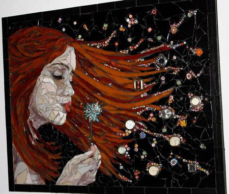 Механизмы и другие штуки в мозаиках Лоры Харрис — фото 4