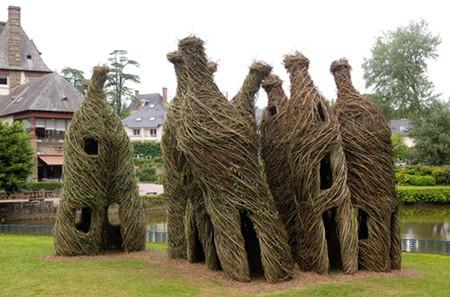 Патрик Догерти – скульптор, который вьет гнезда — фото 13