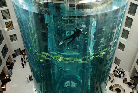 Аквариум – не только домик для рыб. Необычные и разные, маленькие и огромные аквариумы – солисты в интерьере — фото 27