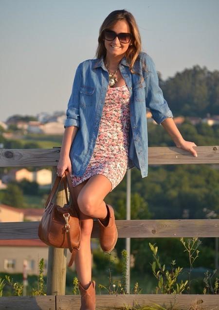 Ода джинсовой рубашке – сочиняем образы — фото 40