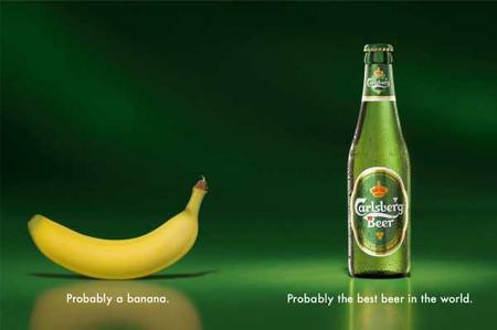 Слева — похоже, банан. Справа — похоже, лучшее пиво в мире.