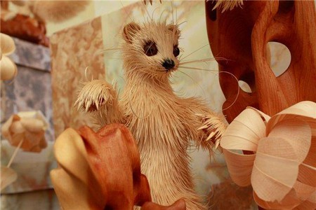 Скульптуры из стружки Сергея Бобкова — фото 6