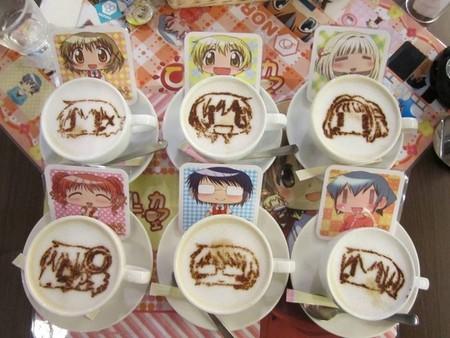 Герои аниме на кофейкой пенке – еще немного о латте-арт — фото 7