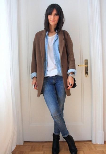 Ода джинсовой рубашке – сочиняем образы — фото 35