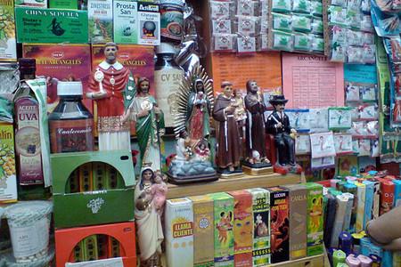 Большой рынок товаров для колдовства в Мексике — фото 2