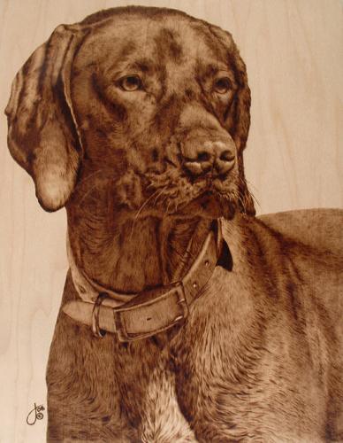 Пирография – горячая живопись Джулии Бендер — фото 8