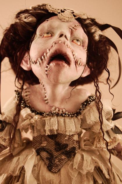Зомби, монстры, вампиры и прочие куклы Камиллы Млынарчик — фото 32