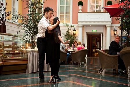 Егор Нечуйкин и Анастасия Макеева, спортивные бальные танцы, гранд-отель Европа