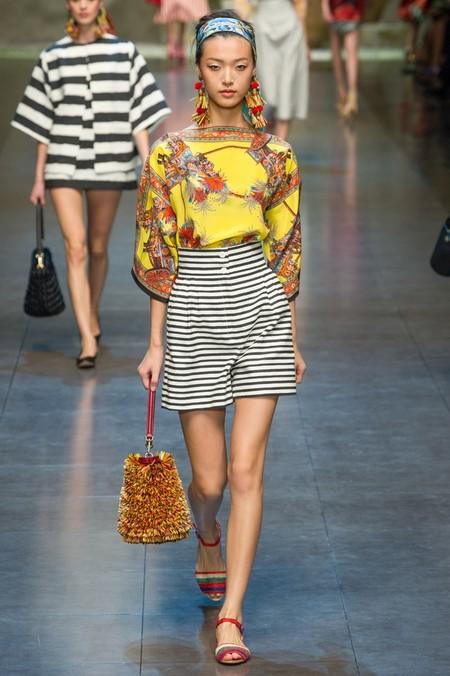 Сицилия от Dolce & Gabbana - женская коллекция весна-лето 2013 — фото 9