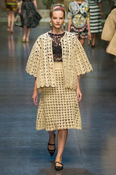 Сицилия от Dolce & Gabbana - женская коллекция весна-лето 2013 — фото 13