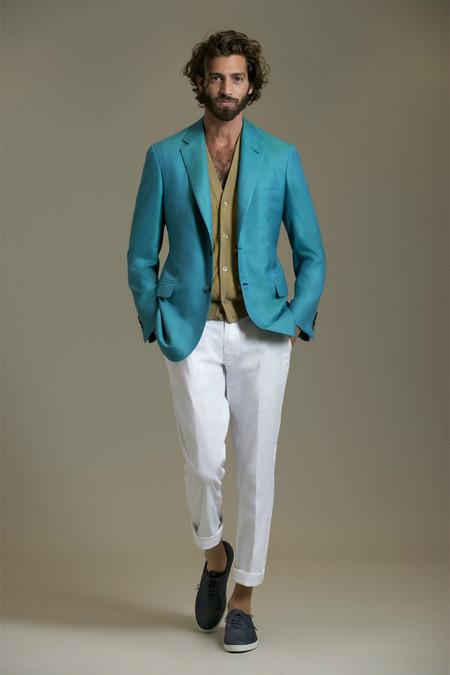 Немного цвета для мужчин – коллекция Brioni сезона весна-лето 2013 — фото 21