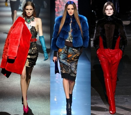 Lanvin, Jean Paul Gaultier, Gucci