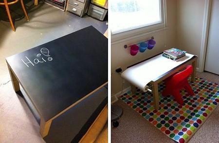 Школьная доска – часть интерьера кухни, детской, спальни и т.д. — фото 20