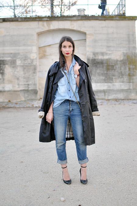 Ода джинсовой рубашке – сочиняем образы — фото 11