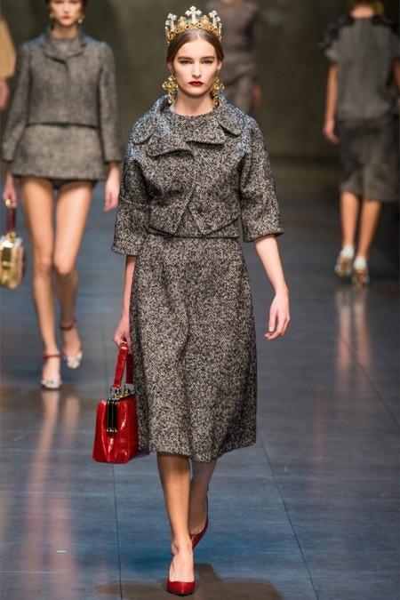 Dolce & Gabbana осень-зима 2013-2014 – когда всего слишком много — фото 19