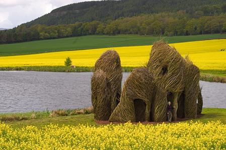 Патрик Догерти – скульптор, который вьет гнезда — фото 11