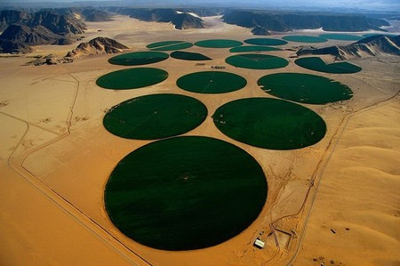 Иордания, ирригационные круги