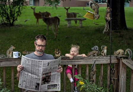 Папа и дочь – истории в картинках. Фото Дэйва Энглдау — фото 20