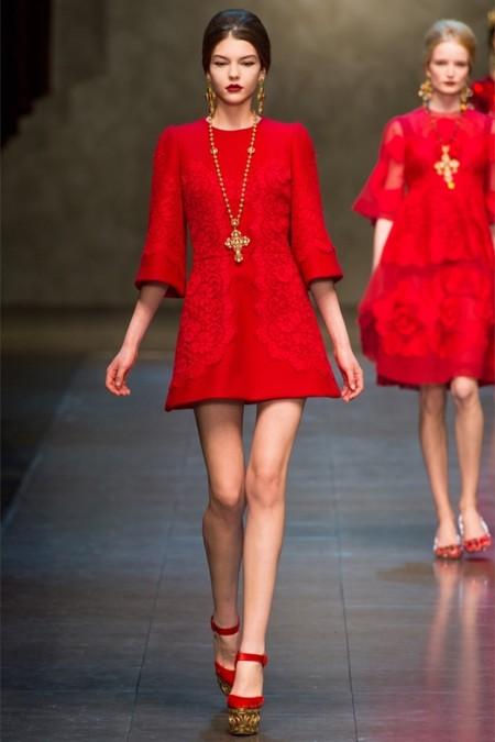 Dolce & Gabbana осень-зима 2013-2014 – когда всего слишком много — фото 57