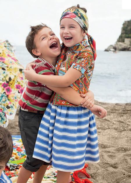 Самым любимым – детская коллекция Dolce&Gabbana весна-лето 2013 — фото 15