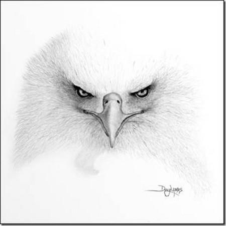 Рисунки карандашом … но не руками. Дуг Лэндис (Doug Landis) – необычный художник. — фото 4