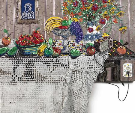 Яркие картины из кабелей от Федерико Урибе — фото 3