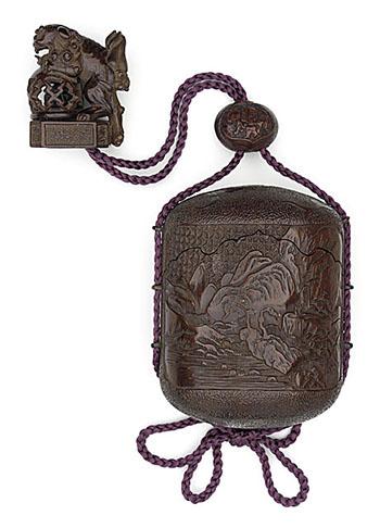 Сагемоно-инро – японский карман. Почему в настоящем нэцкэ должно быть две дырочки? — фото 21