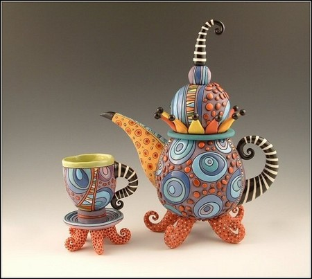 И снова о красивой керамике – посуда от Наталии Сотс — фото 8