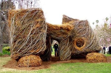 Патрик Догерти – скульптор, который вьет гнезда — фото 5