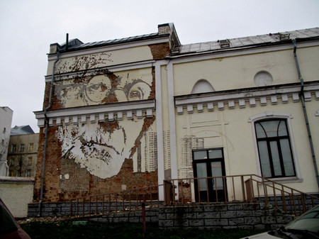 Лица старых зданий – портреты Александра Фарто — фото 3
