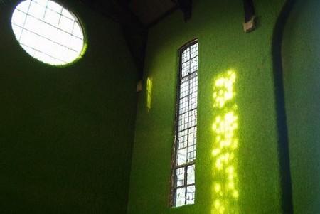 Живой зеленый храм – галерея Dilston Grove Gallery в Лондоне — фото 2