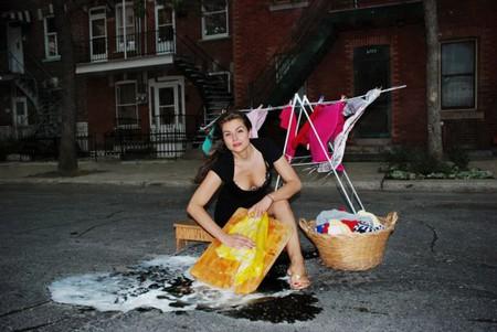 Дэвид Лусиано и Клаудиа Фикка. Что делает художник, когда ему надоедают дорожные ямы? Серию картин! — фото 12