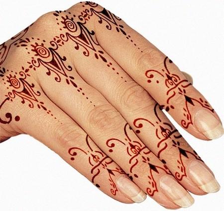 Менди – украшение не только для индийских принцесс — фото 69