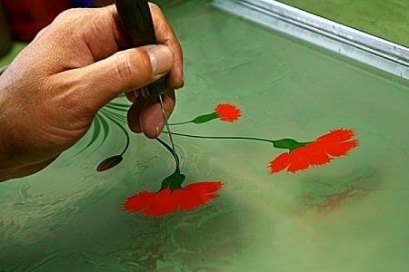 Эбру – нарисованные на воде фантазии — фото 12