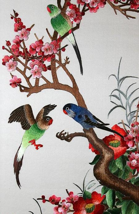 Сучжоуская вышивка – еще один китайский эксклюзив — фото 15