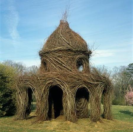 Патрик Догерти – скульптор, который вьет гнезда — фото 15