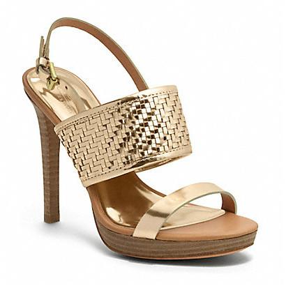 Коллекция обуви от Coach весна-лето 2013 – каблуки, платформа, мокасины, сандалии! — фото 11