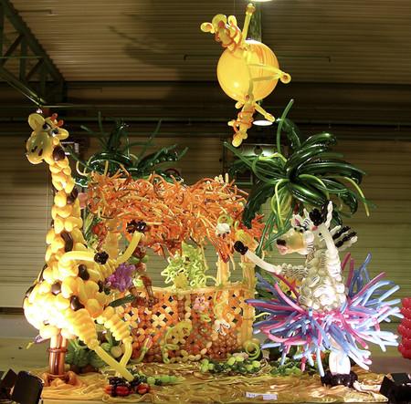 Твистинг – скульптуры из воздуха, или надувательство ))) Фигуры из воздушных шариков — фото 45