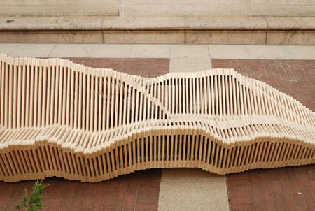 Динамичная скамейка Kinetic Double-Sided Bench — фото 7